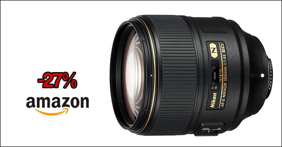 Nikkor 105mm f/1.4 en oferta.