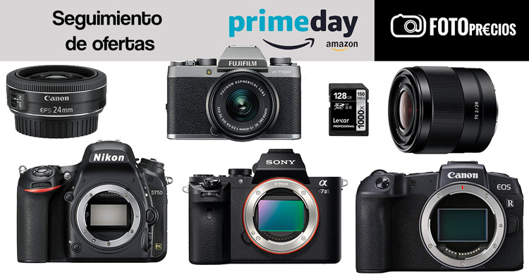 Seguimieto de FotoPrecios del PrimeDay de Amazon.
