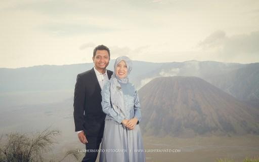 prewedding berhijab bromo