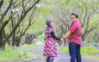 foto prewedding dress merah simple bagus