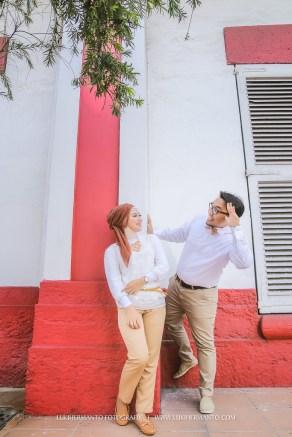 foto prewedding casual lucu simple surabaya