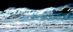 Brandung / Breaking wave I