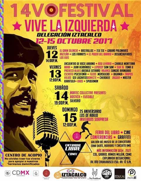 Festival Vive La Izquierda