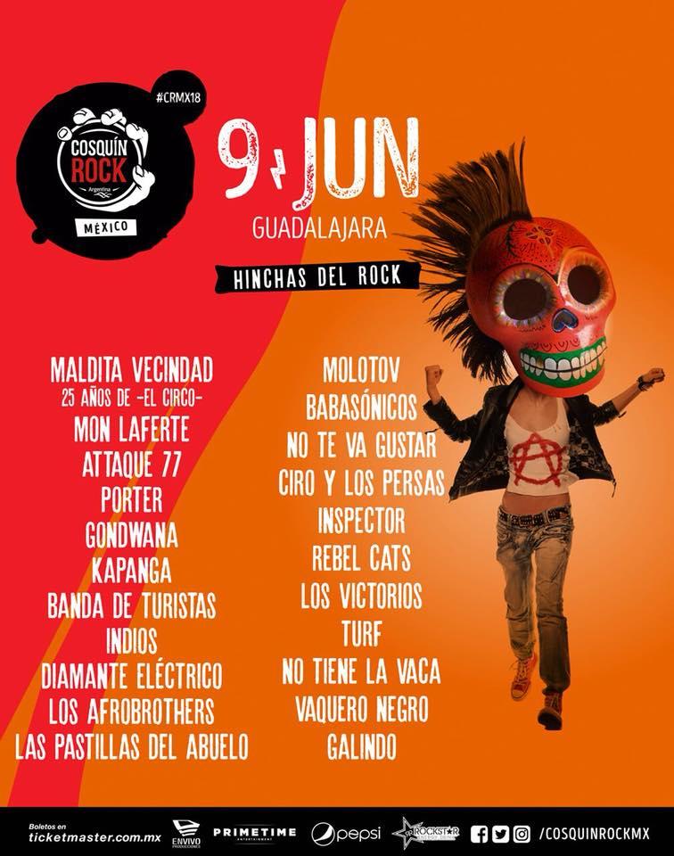 Cosquin Rock México 2018