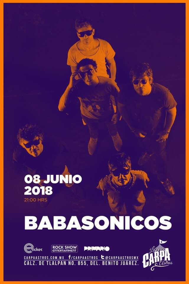 BABASÓNICOS CON NUEVO SHOW EN CARPA ASTROS