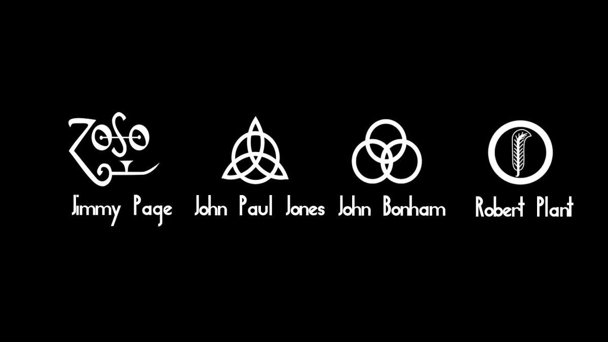 Los Simbolos De Led Zeppelin Fotorock 21