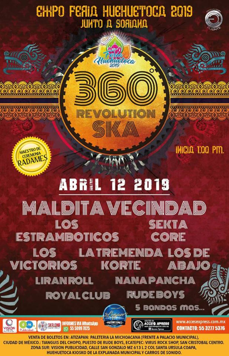 360 Revolution Ska Tour 2019