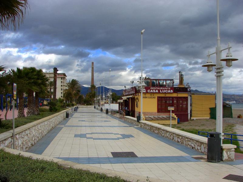 Paseo martimo Antoni Banderas  fotos de Playas de Mlaga