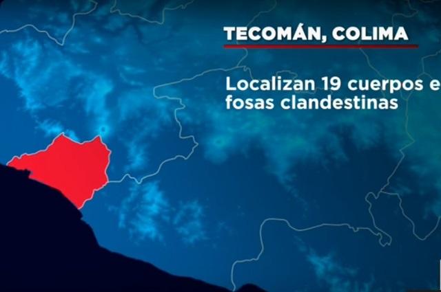 Resultado de imagen para SUMAN 69 CUERPOS ENCONTRADOS EN 49 FOSAS CLANDESTINAS EN TECOMÁN, COLIMA