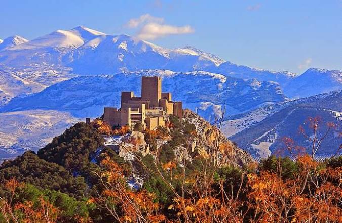 El Castillo de Santa Catalina, en Jaén