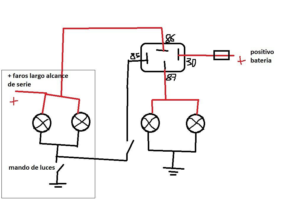 jeep diagrama de cableado de las luces