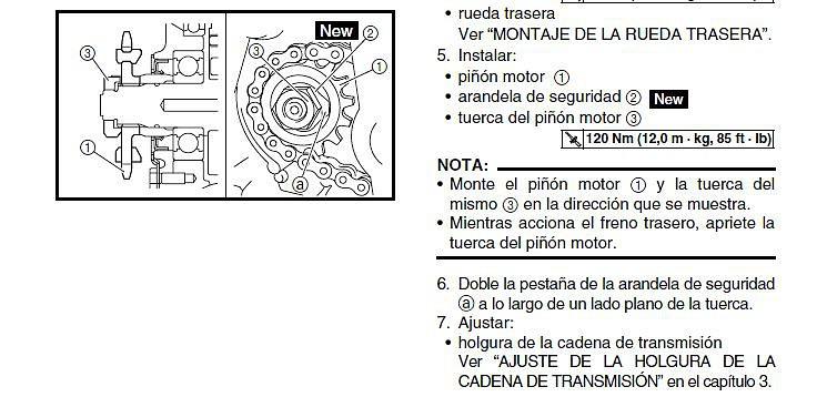 Manual De Taller Xt 660 r yamaha