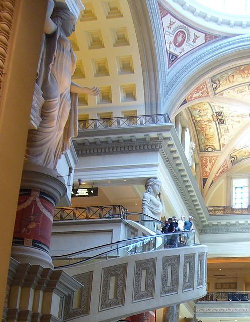 """Caesar Palace, uno de los hoteles más """"elegantes"""" del Strip de Las Vegas"""