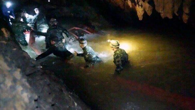 Resultado de imagen para rescate tailandia 4 niños