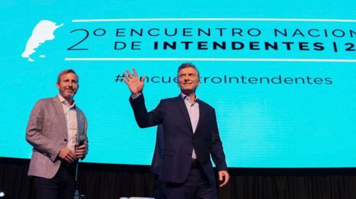 Mauricio Macri y Rogelio Frigerio.