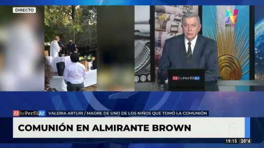 Comunión en Almirante Brown