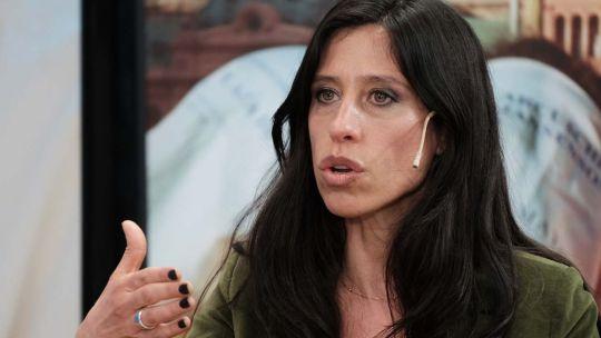 Paula Español, en la entrevista con Jorge Fontevecchia.
