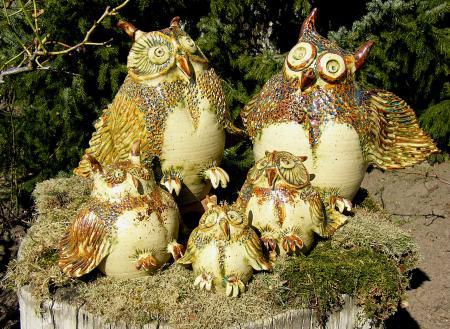 Wiesenkeramik In Reitwein Keramik Im Garten