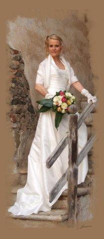 una sposa statuaria