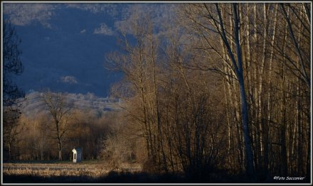 la campagna nei dintorni di Castellamonte, verso le pendici dei Monti pelati...