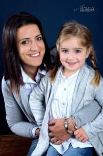 Camilla con la sua mamma