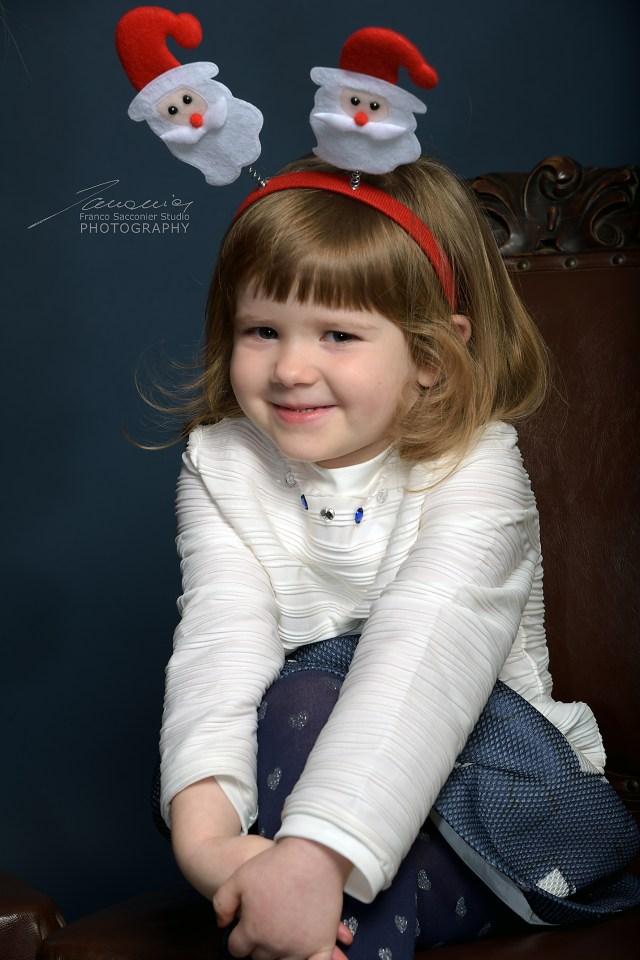 Giorgia piccola renna simpatica #fotografobimbi