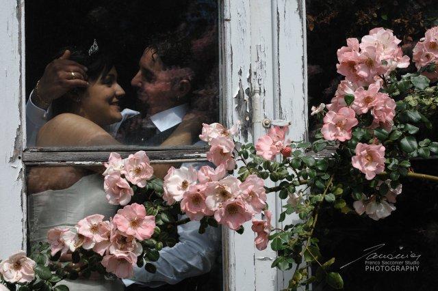 la finestra con le rose