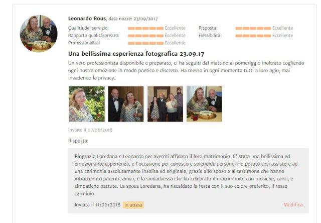 Raccomandazione Leonardo