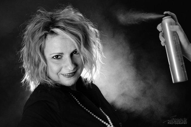 Donatella Baudino, titolare del salone EVOS di San Giorgio Canavese #ritrattoaziendale