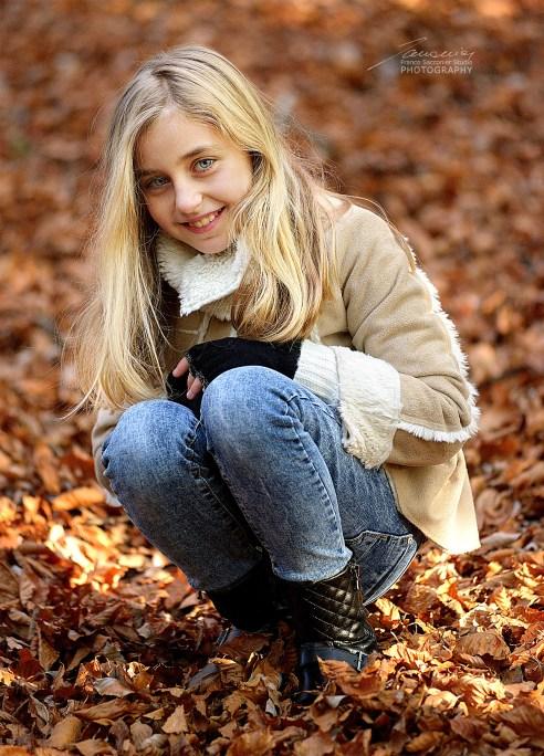 Greta ed i colori dell'autunno