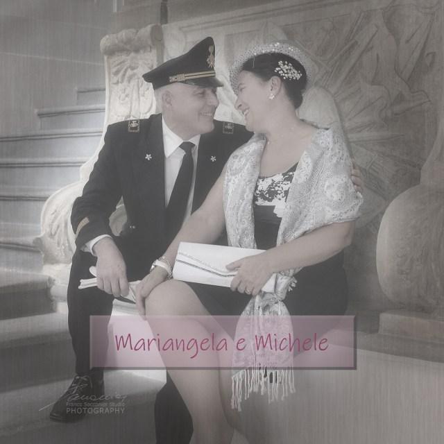 Il matrimonio di Mariangela e Michele