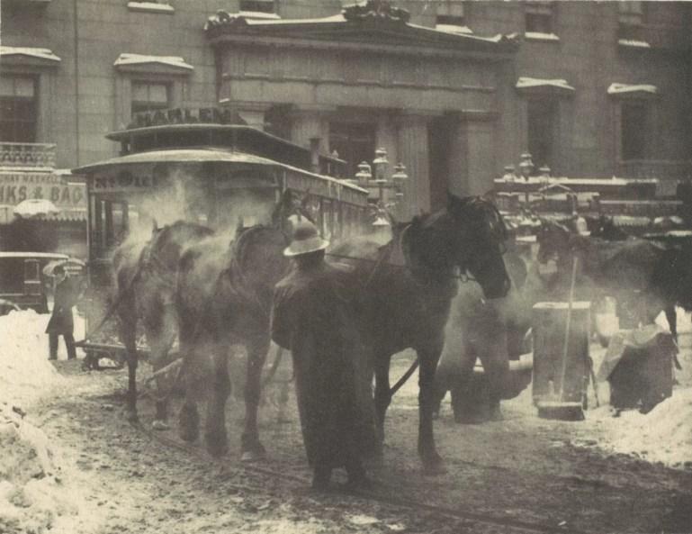 The Terminal. Artist: Alfred Stieglitz. Uno de los fotógrafos que vemos en el Curso de Fotografia de FOTO SAN TELMO
