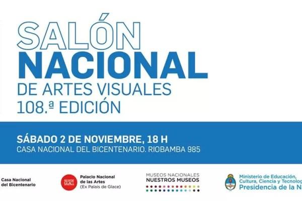 Exposición del Salón Nacional de Artes Visuales 2019