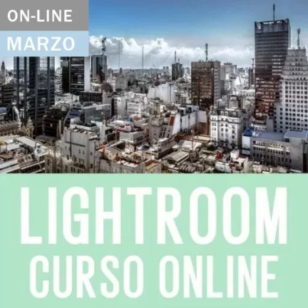 Curso Online de Lightroom 2021