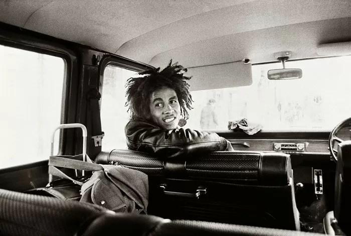 Bob Marley fotografiado por Dennis Morris