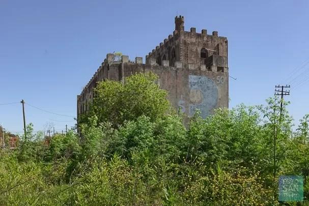 Castillo abandonado en la provincia de Buenos Aires