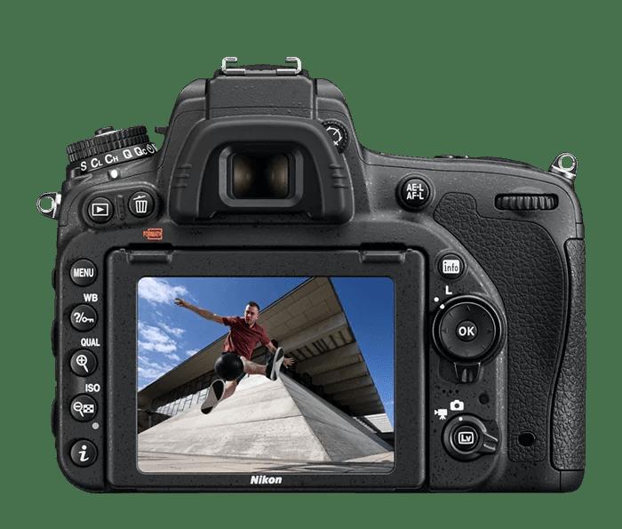 La fotografía digital con una cámara Nikon