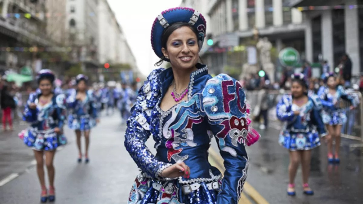 Cobertura fotográfica del Desfile por la Integración Cultural de Bolivia y Argentina