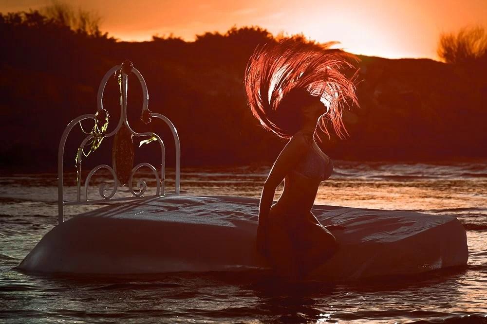 Fotos Boudoir Valencia - Book de fotos exteriores playa