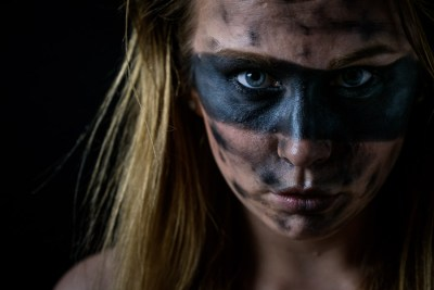 Portraitfotografie: experimentell