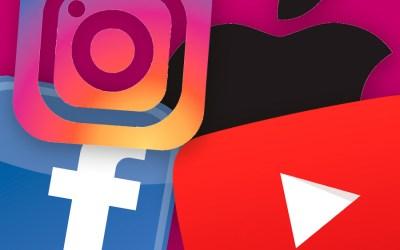 YouTube, Instagram & Co.