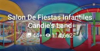 Salon De Fiestas Infantiles Candie´s Land 2020