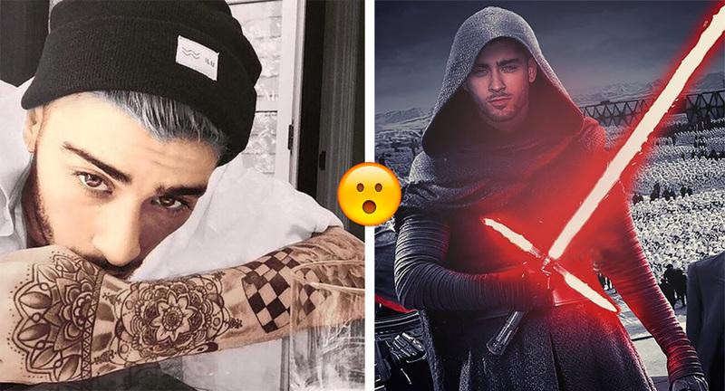Wow Zayn Malik Se Hizo El Tatuaje De Star Wars Más épico