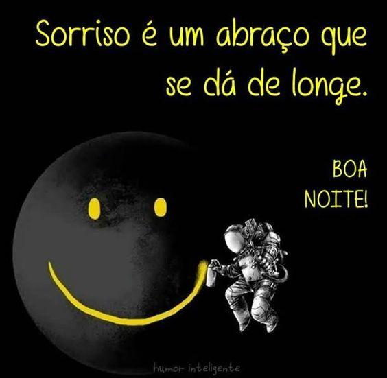 Um sorriso de boa noite!