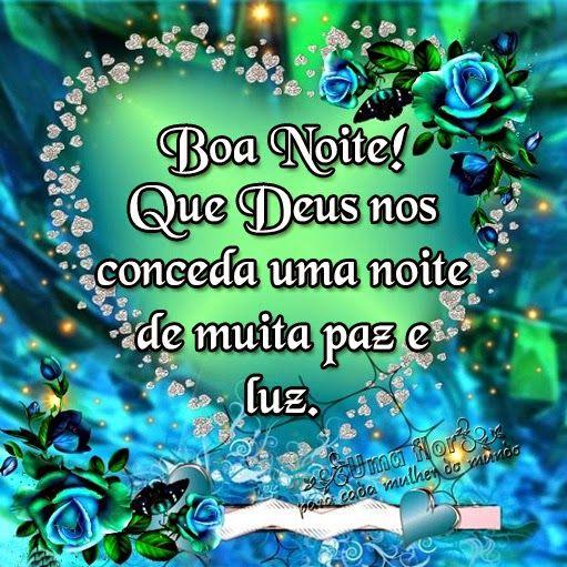 Boa noite com Deus e muita saúde e paz no coração, Boa noite com imagens