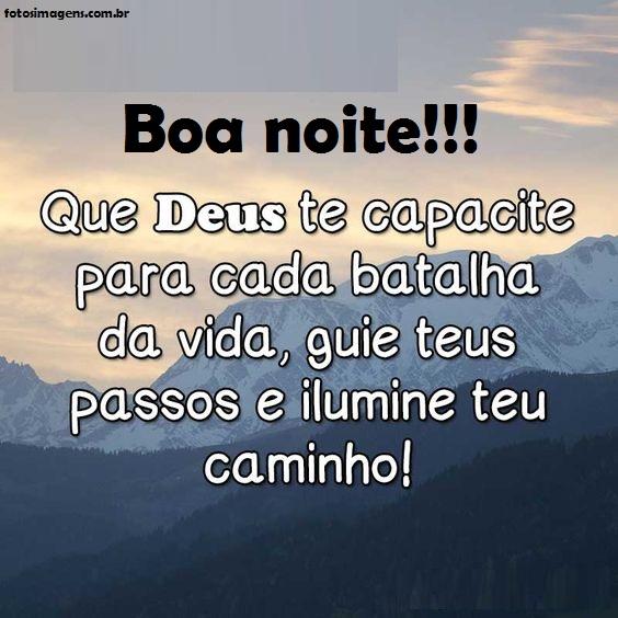 Boa noite tenha fé em Deus e ele vai te capacita para você a cada dia