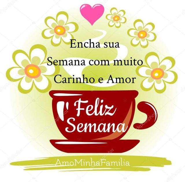 Bom dia amor carinho boa semana