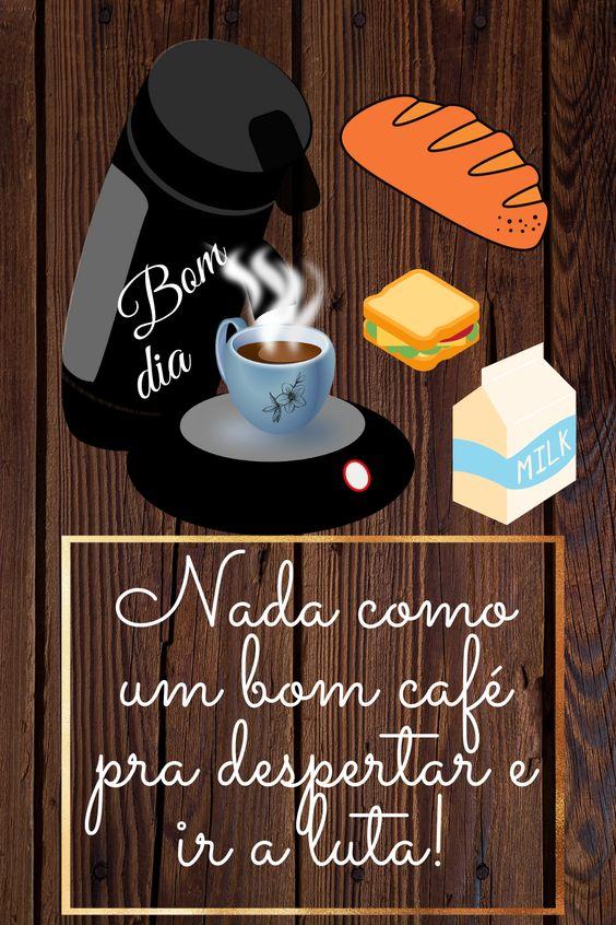 Um bom café pra começar o dia