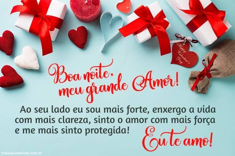 Mensagens de boa noite para apaixonados com carinho paixão doçura e romance