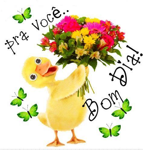 Flores e bom dia pra você
